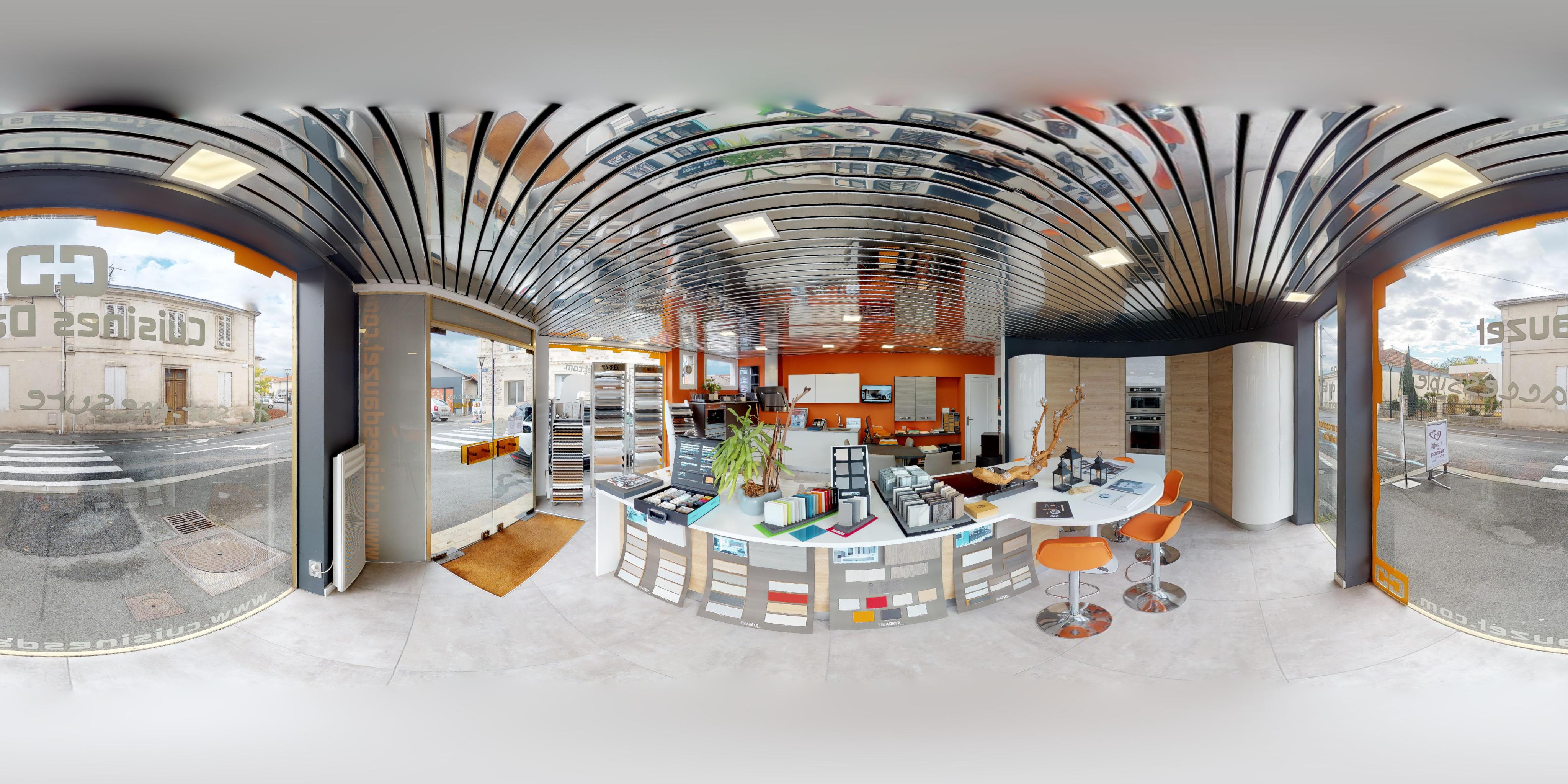 visites virtuelles cuisiniste La Teste de Buch
