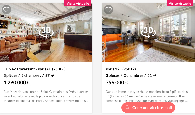 visite virtuelle immobilier
