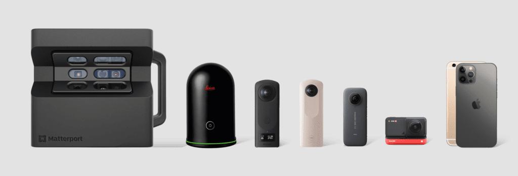 caméras 360 pour visites virtuelles