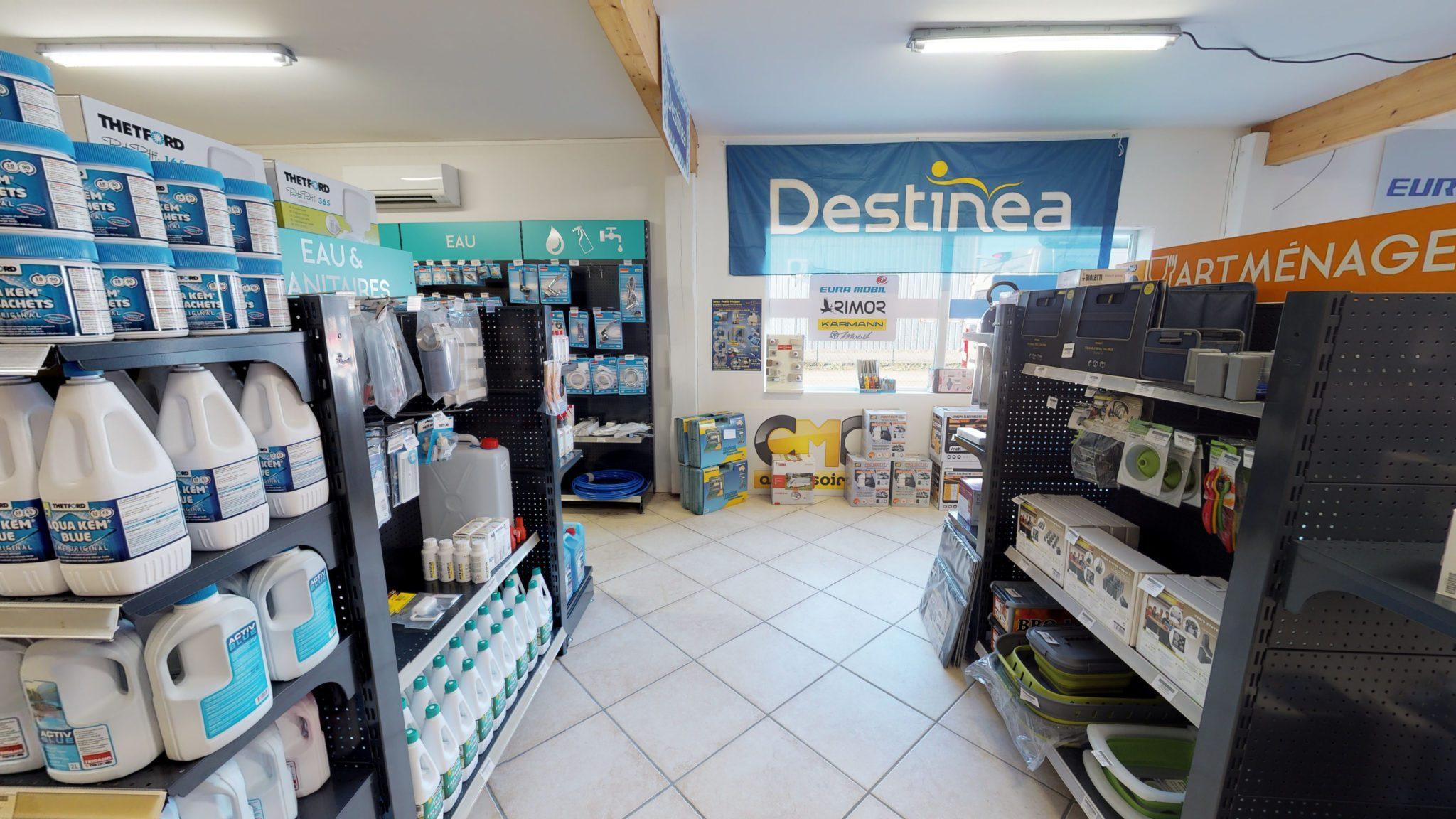 Destinea boutique virtuel